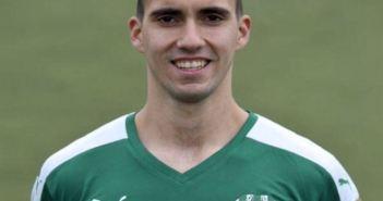 Branko Jovanovic, central serbio a prueba en el Recreativo de Huelva.
