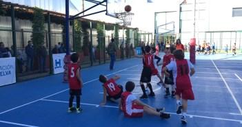 Concentración premini de baloncesto en La Palma del Condado.