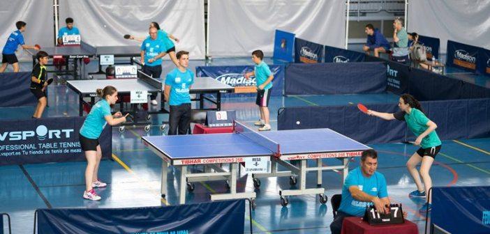 12 horas de tenis de mesa en Ayamonte.