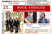 CARTEL EVENTO ROCK ANDALUZ 25 DE MAYO