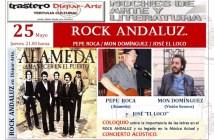 CARTEL EVENTO ROCK ANDALUZ 25 DE MAYO