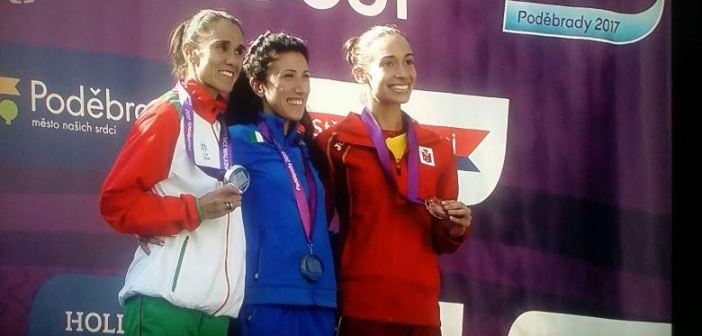 Laura García Caro, bronce en la Copa de Europa de marcha.