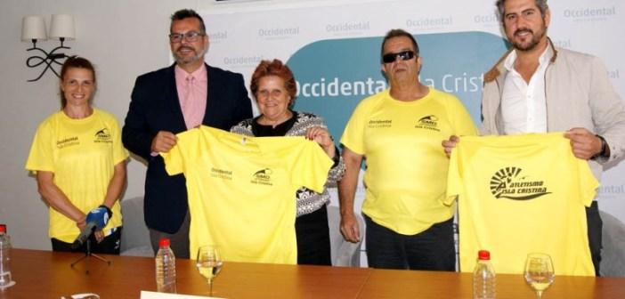 Presentación de los Campeonatos de Andalucía de atletismo en Isla Cristina.
