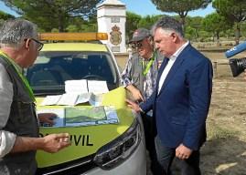 Activado el Plan Romero para velar por la seguridad en El Rocío