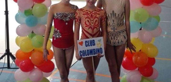 Club Rítmico Colombino en el torneo de Almodóvar del Río.