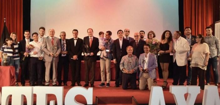 Gala del Deporte de la Asociación de la Prensa Deportiva.