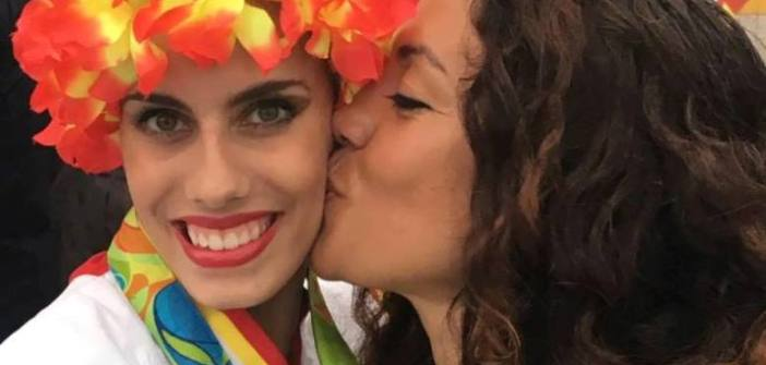 Inmaculada Márquez  y Lourdes Mohedano en Río de Janeiro.
