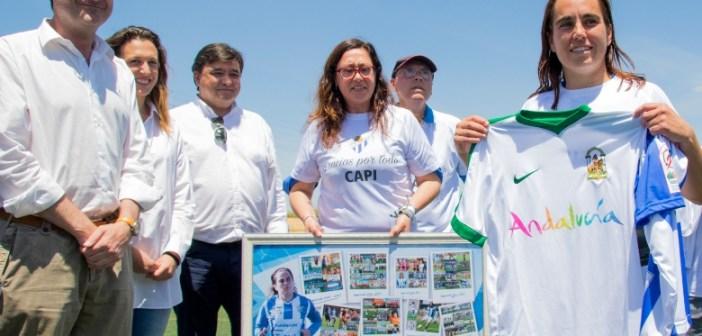 Despedida de Jenny Benítez como jugadora del Sporting.
