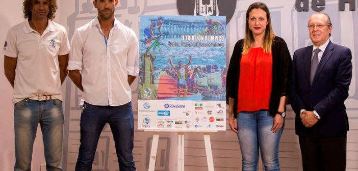 Presentación del II Triatlón 'Puerto del Descubrimiento'.