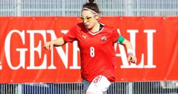 Khatarina Aufhauser, nueva jugadora del Cajasol Sporting.
