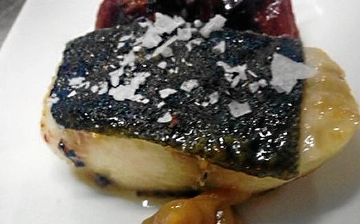 Bacalao negro de Alaska marinado en miso y miel de clementina