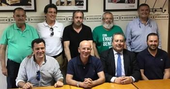 Nueva junta directiva del CDB Enrique Benítez.