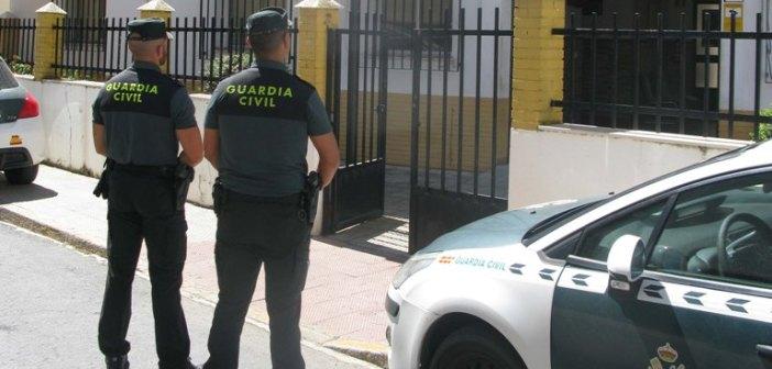 Guardia Civil en Isla Cristina