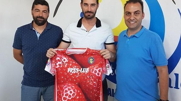 Juanma Barba, nuevo jugador del CD Pinzón.