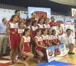 Equipo mini del CB La Palma, campeón de la Copa Covap.