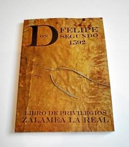 Libro los Privilegios de Zalamea