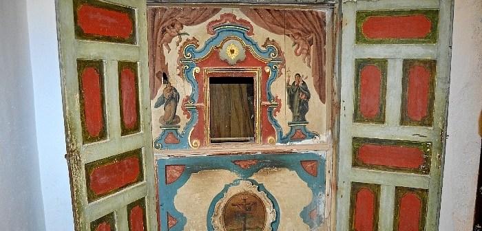 comulgatorio monasterio de Santa Clara