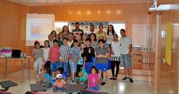 foto clausura taller aprender juntos 2017 Cartaya