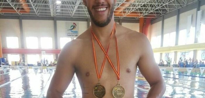 Diego Barba, nadador paralímpico onubense.