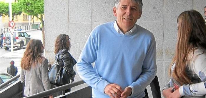 Imagen de archivo de Juan Manuel Orta a su entrada a los juzgados.