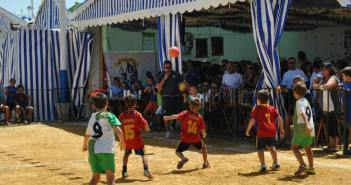 Trofeo Colombino de fútbol calle tres por tres.