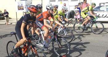 Ciclismo en carretera en Bollullos del Condado.