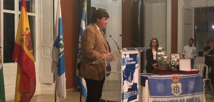 Gabriel Cruz,, alcalde de Huelva.