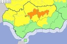 aviso amarillo calor