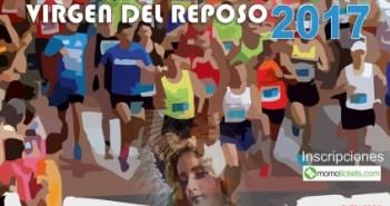 Cartel de la Media Maratón de Valverde del Camino.