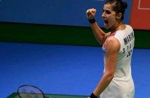 Carolina Marín, campeona del Abierto de Japón.