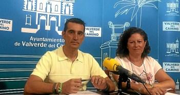Rueda de prensa en Valverde sobre las Escuelas Municipales
