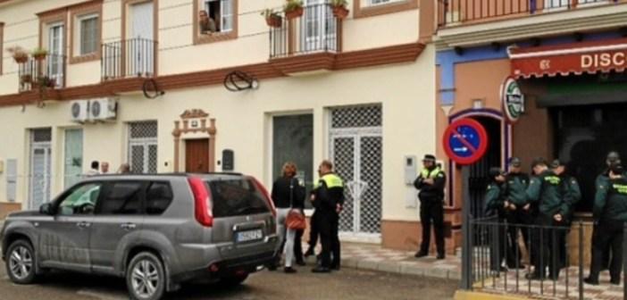 Vivienda doble crimen de Almonte