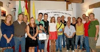 Autoridades, premiados, patrocinadores y miembros de la Afic
