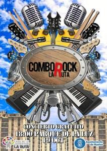 Cartel Comborock Parque de la Luz