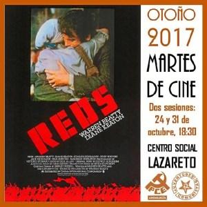 Cartel Martes de Cine en El Higueral