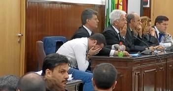 Momento en el que jurado popular emitía su veredicto de no culpabilidad contra Francisco Javier Medina.
