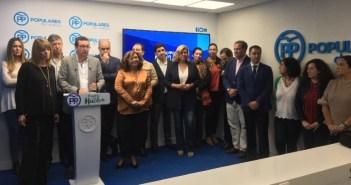 PP de Huelva con el grupo municipal de la capital