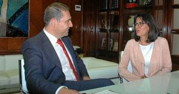 Presidente APH y Rectora