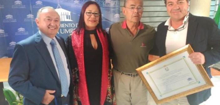 Premio promoción turística al Real Club Marítimo y Tenis de Punta Umbría.