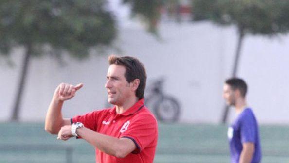 Mikel Gandarias, cesado como entrenador del AD Cartaya.