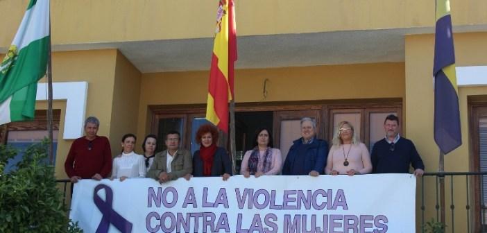 Pancarta Contra la Violencia hacia las Mujeres
