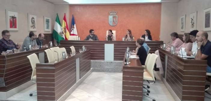 Pleno Almonte  sin ediles del PP dimitidos noviembre 1
