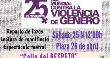 ss ss VIOLENCIA MUJERES 25n CARTEL