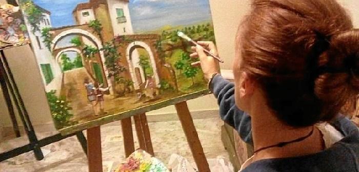 171205. Inmaculada Mora en su estudio