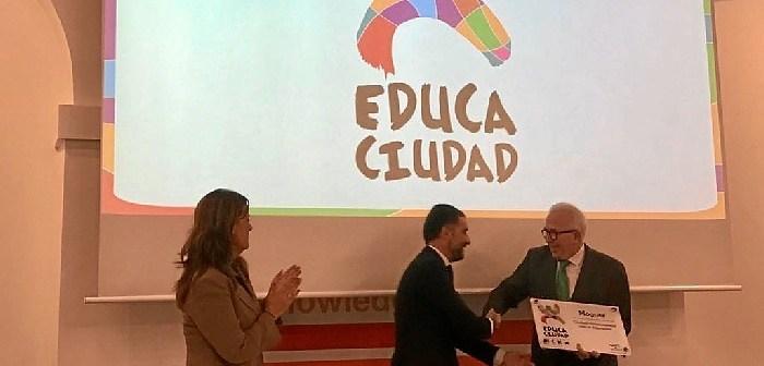 Premio 'Educaciudad' Moguer.