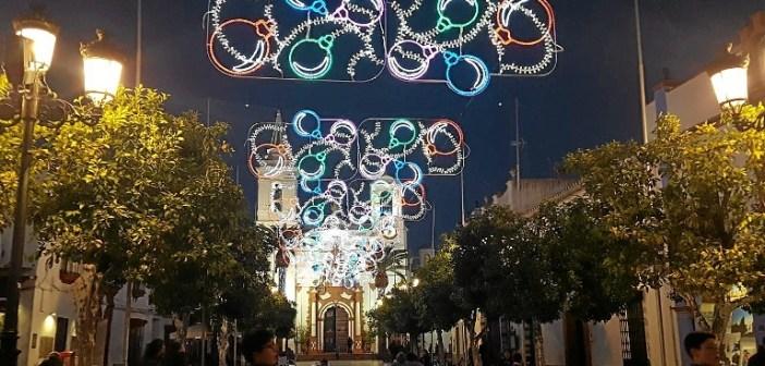 Alumbrado de Navidad en Almonte (1)