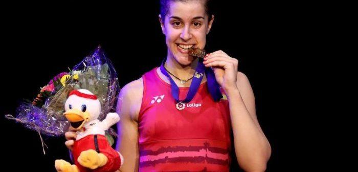 Carolina Marín es el valor más seguro e internacional del deporte en Huelva. Este año se proclamó campeona de Europa.