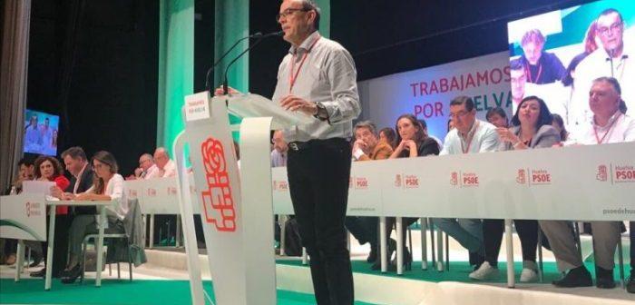 Ignacio Caraballo ha resultado reelegido como secretario general del PSOE en Huelva.