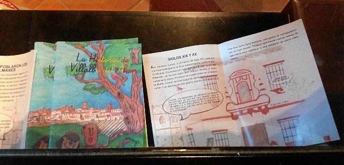 La historia de Villalba del Alcor, cuento infantil1
