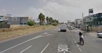 A-5000 entre Huelva y San Juan del Puerto